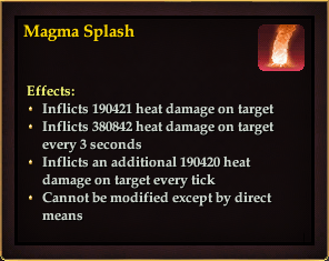 Effect - Magma Splash