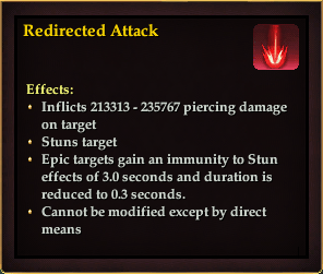 Effect - Redirected Attack