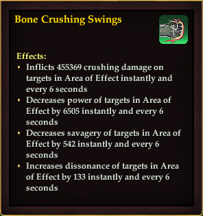 Effect - Bone Crushing Swings