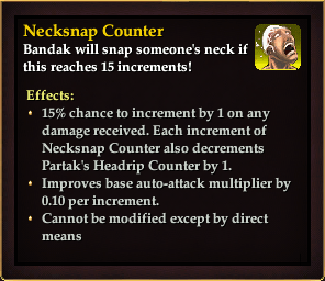 Effect - Necksnap Counter