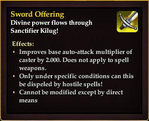 Effect - Sword Offering