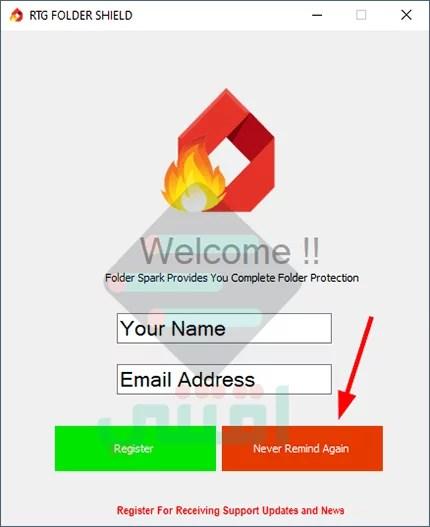 برنامج قفل الملفات بكلمة سر Folder Spark مجانا للكمبيوتر اقتني
