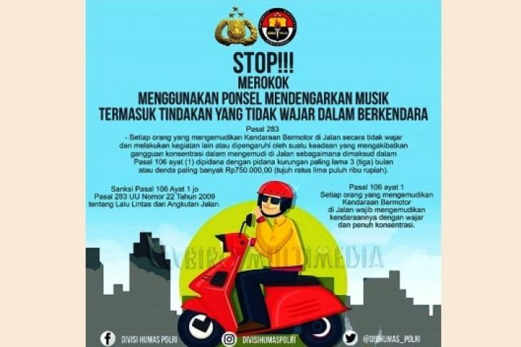 Larangan Merokok untuk Para Pengendara Kendaraan Bermotor
