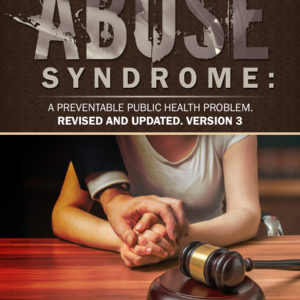 Legal Abuse Syndrome book cover with advocate hand over the clients hand giving support
