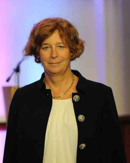 Foto della ministra Petra De Sutter