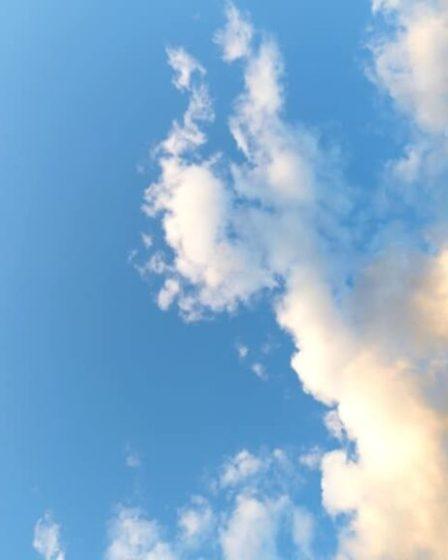 Fumetti e nuvole serene