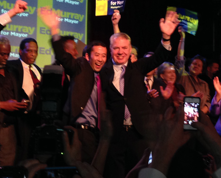 Ed Murray Leading Seattle Mayoral Race