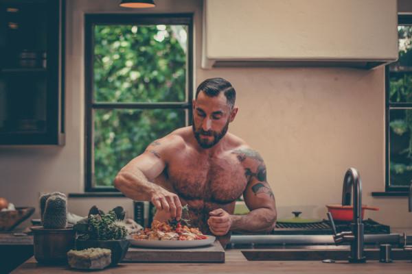 Bear-Naked Chef Adrian De Berardinis
