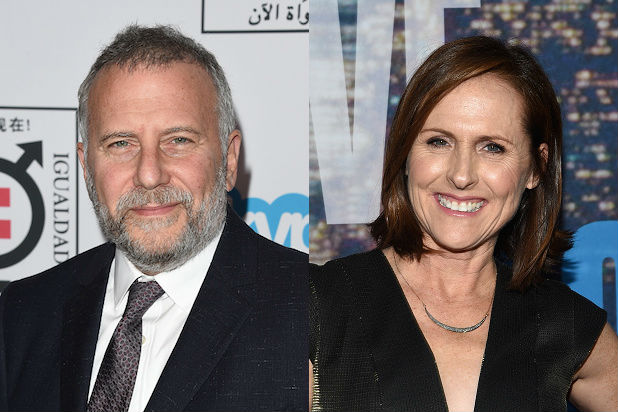 Miles with Molly Shannon and Paul Riser