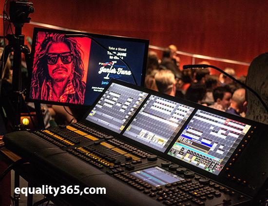 Photo of Steven Tyler by Dee Vanderlin for Equality365.com