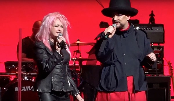 Boy George and Cyndi Lauper on Equality365.com