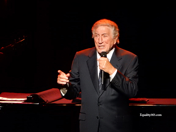 Tony Bennett Crooned To The Seattle Crowds