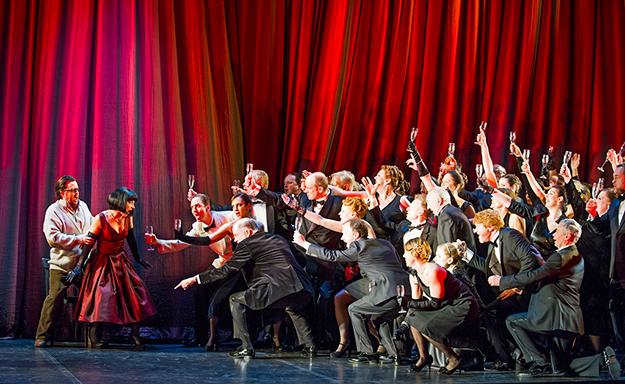 """""""La traviata"""" (The Fallen Woman)"""