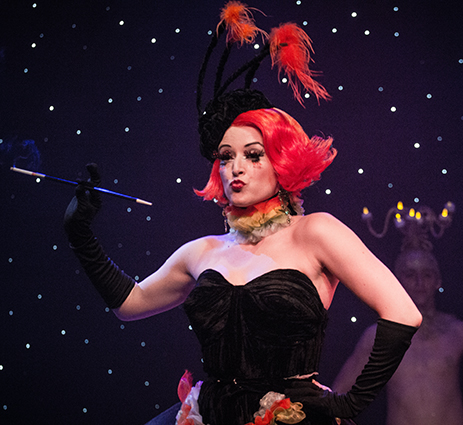 """Through The Looking Glass: The Burlesque Alice in Wonderland"" A Treat For The Senses"