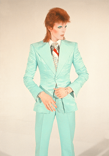 David Bowie. Life on Mars, 1973 by Mick Rock