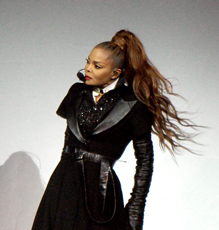 Janet Jackson's State Of The World Tour At Seattle's KeyArena