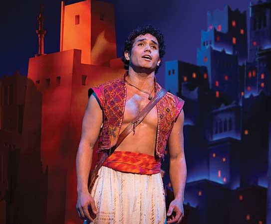 Adam Jacobs as Aladdin