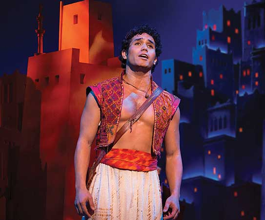 Your Wish Has Been Granted <em>Aladdin</em> Has Returned To Seattle
