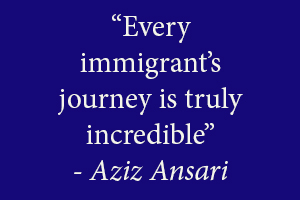Anziz Ansari on Six Words: Fresh Off The Boat