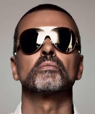 George Michael (courtesy of Sony Legacy)