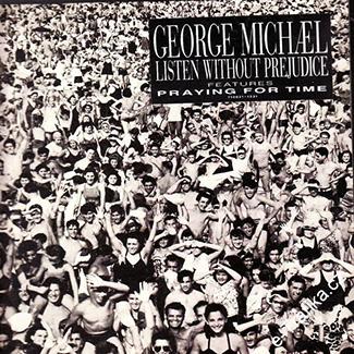 "Original ""Listen Without Prejudice"" Album Cover"