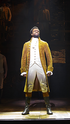 "Michael Luwoye – ""Hamilton"" National Tour (Photo by Joan Marcus) on equality365.com"