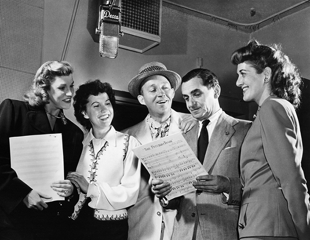Berlin, Bing Cosby & the Andrews Sisters on equality365