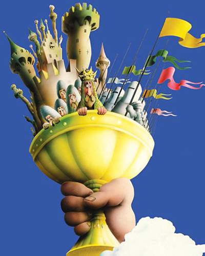 Spamalot at Tacoma's Broadway Center