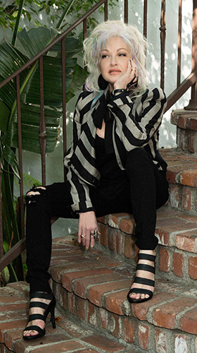 Cyndi Lauper (photo by Amber Sterling) interview on Equality365.com