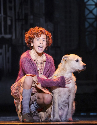 Annie the musical review on Equality365