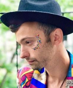 Daniel Quadrino glitter pride
