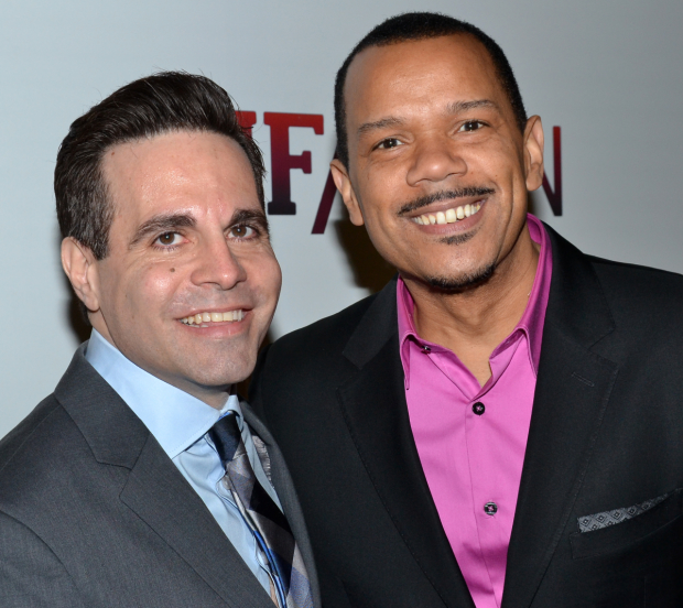 Mario Cantone and husband, Jerry Dixon