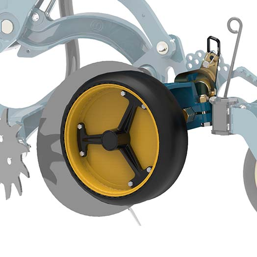 Equalizer No-Till Disc Seeder Heavy Duty gauge wheel | www.equalizer.co.za