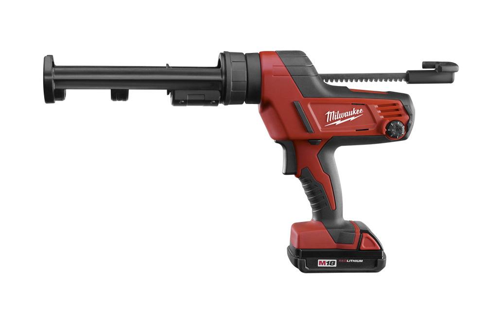 Milwaukee® M18™ Cordless Cartridge Caulking Gun • 10 oz. (296 ml) - Equalizer®
