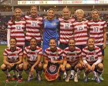 Us Women's Soccer Team 2013