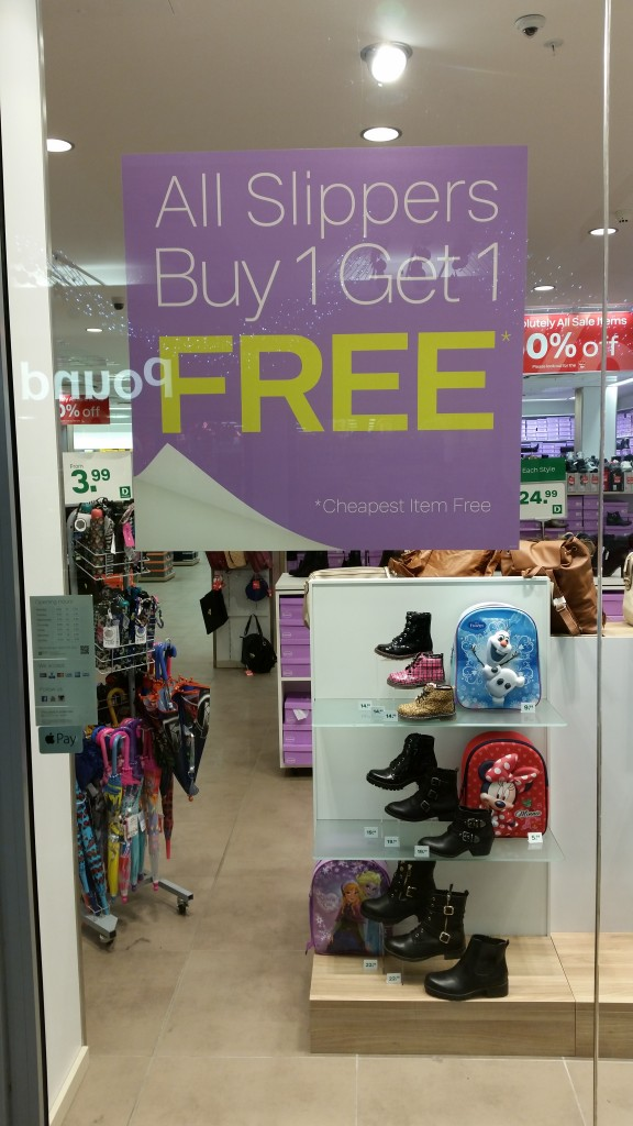 20151219 143701 e1452014922103 576x1024 - Slippers, Buy one get one free! #slipper #offer #bogof