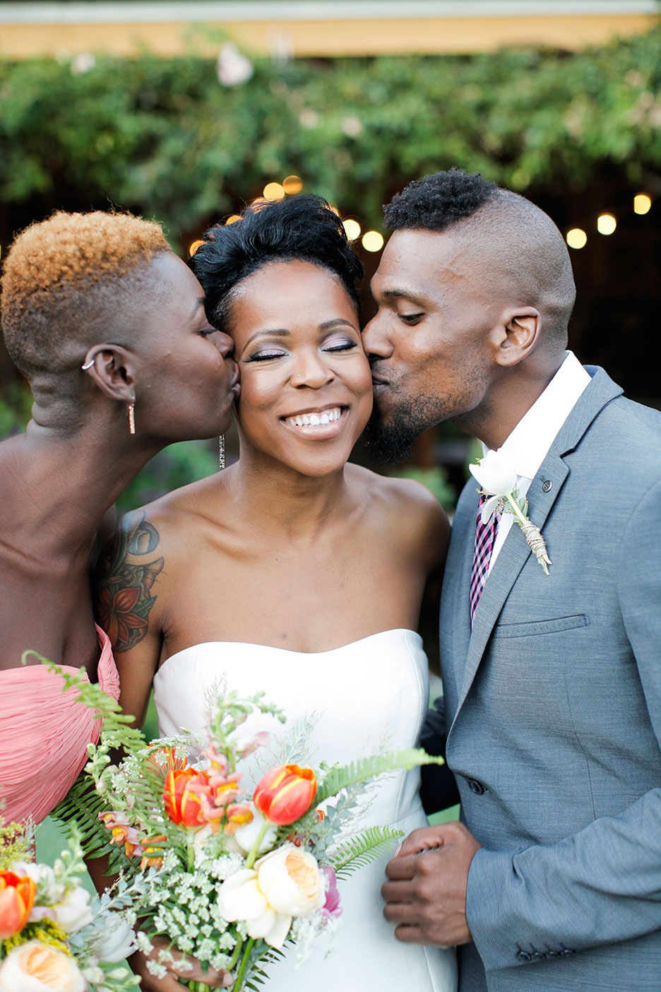 Michelle And Niva S Rustic Glam Chic California Wedding Equally Wed Modern Lgbtq Weddings