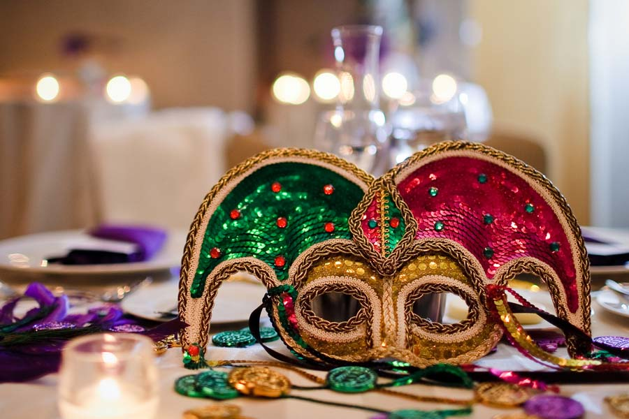 Mardi Gras Wedding Ideas
