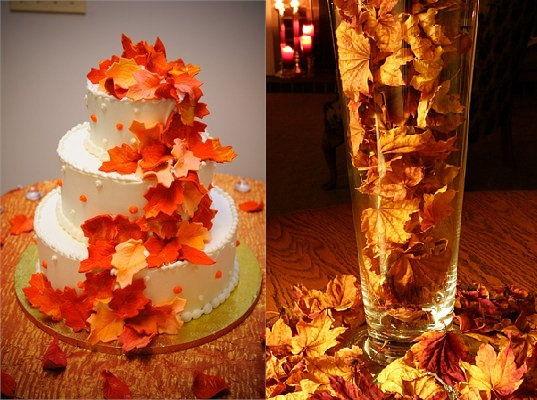 Autumn Wedding Ideas Budget