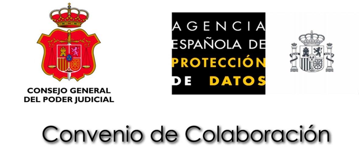 Convenio entre la AEPD y el Consejo General del Poder Judicial