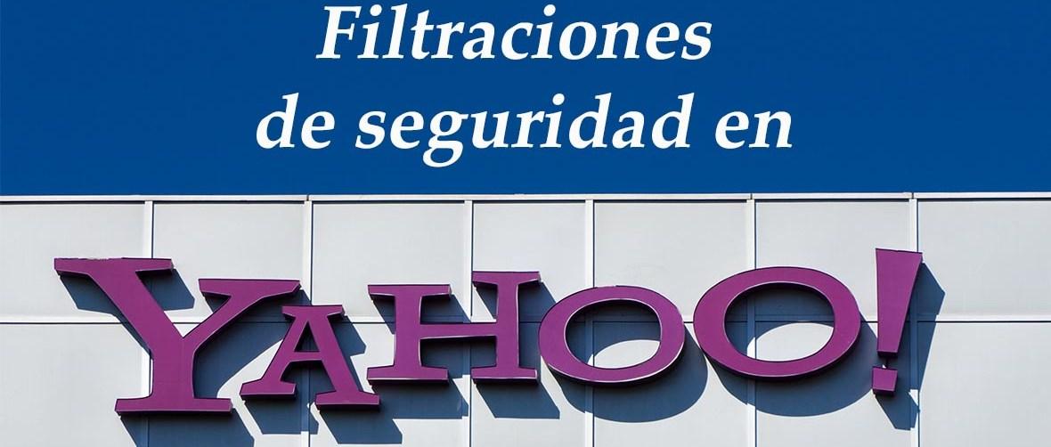 Filtraciones de seguridad en Yahoo