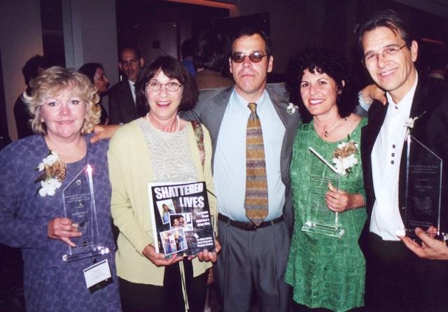 Winners of the 2001 Robert Randall Activism Award