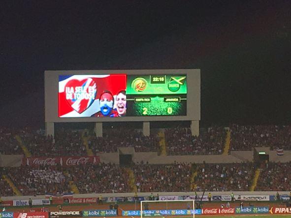 Before the final goal. GOOOOOOL COSTA RICA