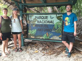 Manuel Antonio National Park!! Certainly a good day, thanks guys!