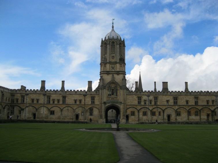 Oxford pre-rainstorm