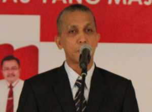 Ketua KPU Sekadau, Gusti Mahmud Buang