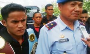 Danlanud Supadio Pontianak, Marsma Tatang Heryansah bersama Iwan Zoda