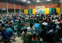 Calon Gubernur Kalbar nomor urut tiga Sutarmidji bersilaturahim dengan masyarakat Kecamatan Entikong (Kang Enchus for Equator).