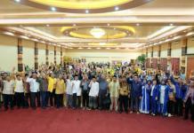 Calon Gubernur Kalbar nomor urut tiga Sutarmidji saat bersilaturahim di Kabupaten Ketapang (Kang Enchus for Equator).