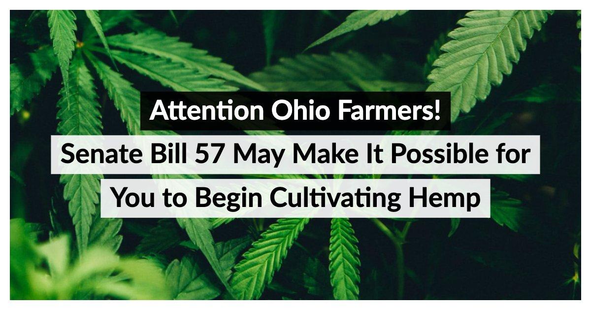 Attention Ohio Farmers Senate Bill 57